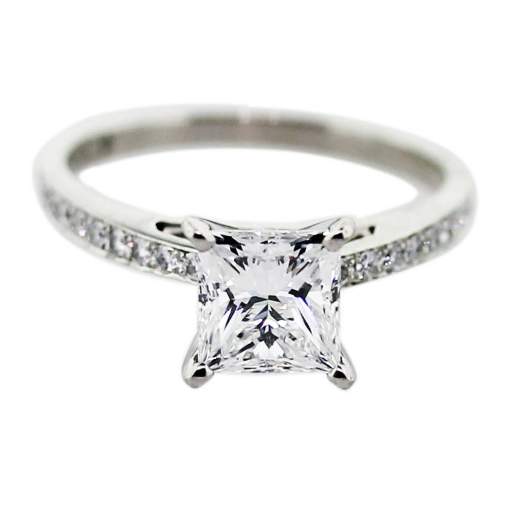15 Ct Princess Cut Engagement Ring, Princess Cut Engagement Ring, Princess  Ring