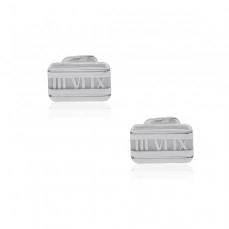 Tiffany & Co. Pre Owned Atlas Cuff Links