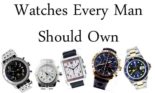 watches every man should own, watches every guy should have, boca raton watches