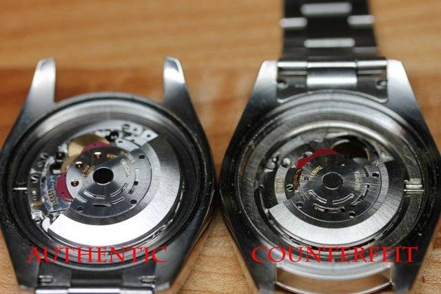 Fake Milgauss movement, spot a fake milgauss, how to tell if milgauss is real