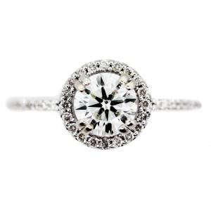 gia certified halo diamond ring, halo diamond ring under 3000, halo ring under 3000