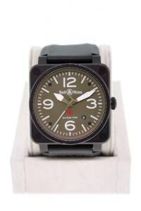 Bell and Ross BR03-92-S-09333 Army Green Dial