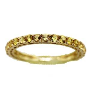 yellow sapphires, yellow sapphire ring, yellow eternity band, yellow ring