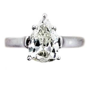 1.68ct pear shaped engagement ring, pear shaped engagement ring boca raton