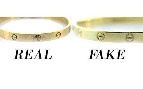 how to spot a fake cartier love bangle, how to tell cartier love bangle real, fake cartier