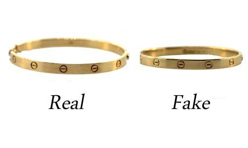 Fake Cartier Love Bracelet Real Vs
