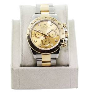Pre-owned Rolex Daytona 116523 Two-tone Watch, two tone preowned rolex boca