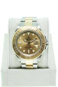 Rolex 16623 yachtmaster champagne dial, rolex champagne dial, rolex yachmaster