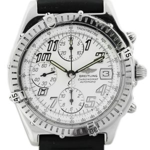 Breitling Windrider Chronomat D13047 Two Tone Mens Watch