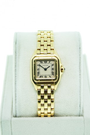Cartier Panther Small 18K Yellow Gold W25022B9 Ladies Watch