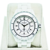 Used Chanel H0970 J-12 Ceramic 38mm White Gents Watch