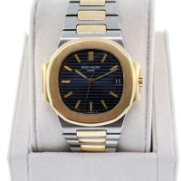Patek Philippe 3800 Nautilus, 18K and Stainless Steel