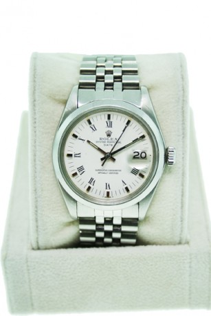 Used Rolex Date 1500 Stainless Steel Gents Watch
