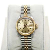 Pre-Owned Rolex Date 6917 Ladies Two Tone Watch