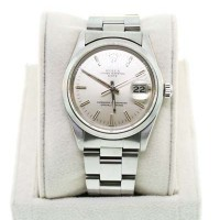Pre-Owned Rolex Date 5000 Oyster Dial Midsize Watch