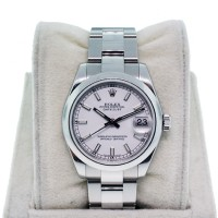 Rolex Datejust 178240 Midsize White Dial Stainless Steel Midsize Watch