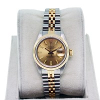 Rolex Datejust Ladies 69163 Stainless and Yellow Gold Watch