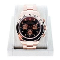 Rolex Daytona 116505 Everose Black Dial Mens Watch