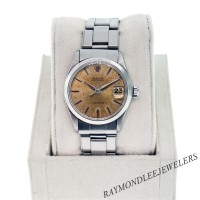 Used Rolex Stainless Steel Precision 6466 Midsize Gents Watch