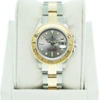 Used Rolex Yachtmaster Two Tone Ladies 169623 Oyster Dial