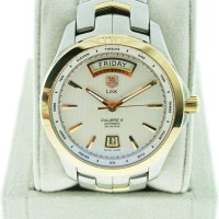 Tag Heuer Link WJF2050 Two Tone Day Date