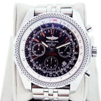 Breitling for Bentley A25632 Black Dial Chronograph Watch