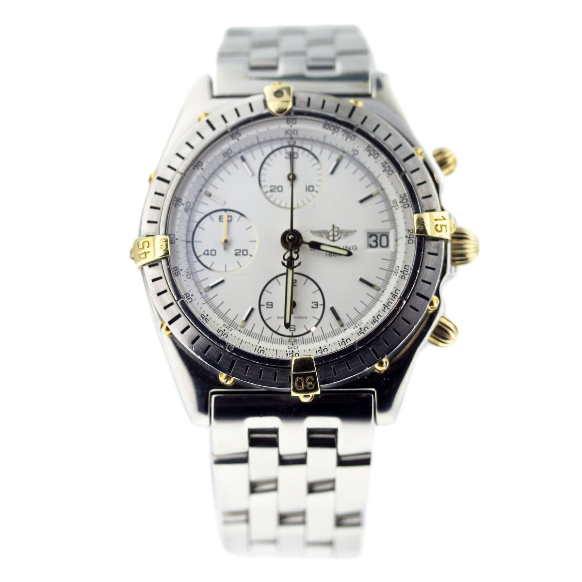 Pre Owned Breitling Windrider B13048 Chronomat Two Tone