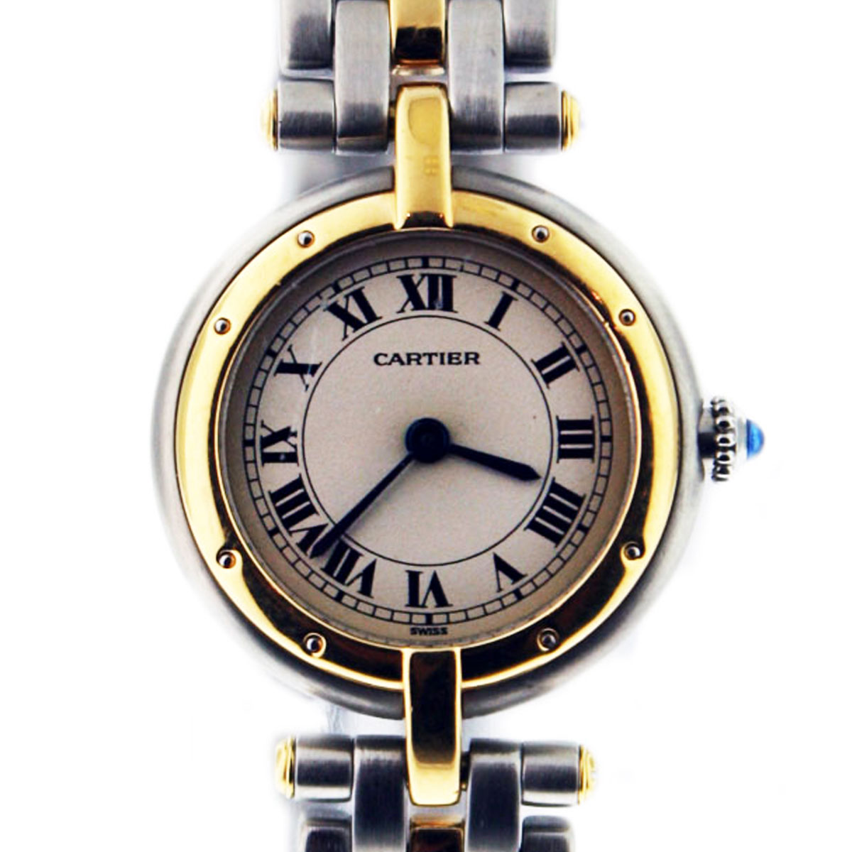 pre owned cartier panther vendome two tone
