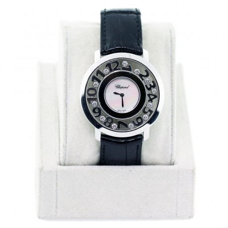 Pre-owned Chopard Happy Numbers 20/7233 Watch