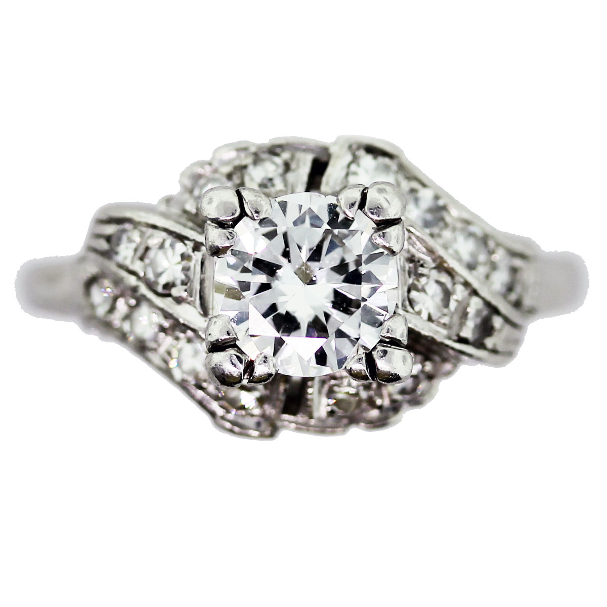 Platinum Diamond Engagement Rings Sale