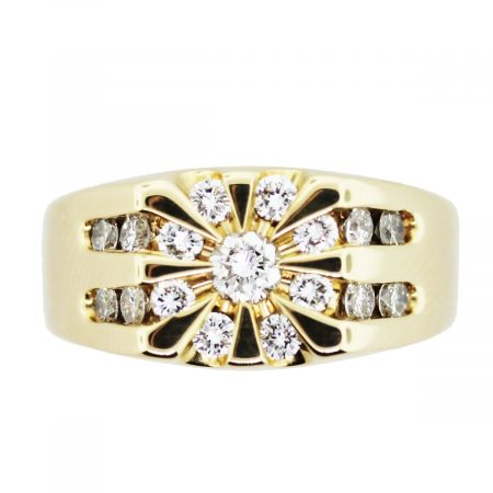 diamond mens ring jewelry