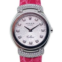 Rolex Cellini 6672 Cellissima 18K White Gold Ladies Watch