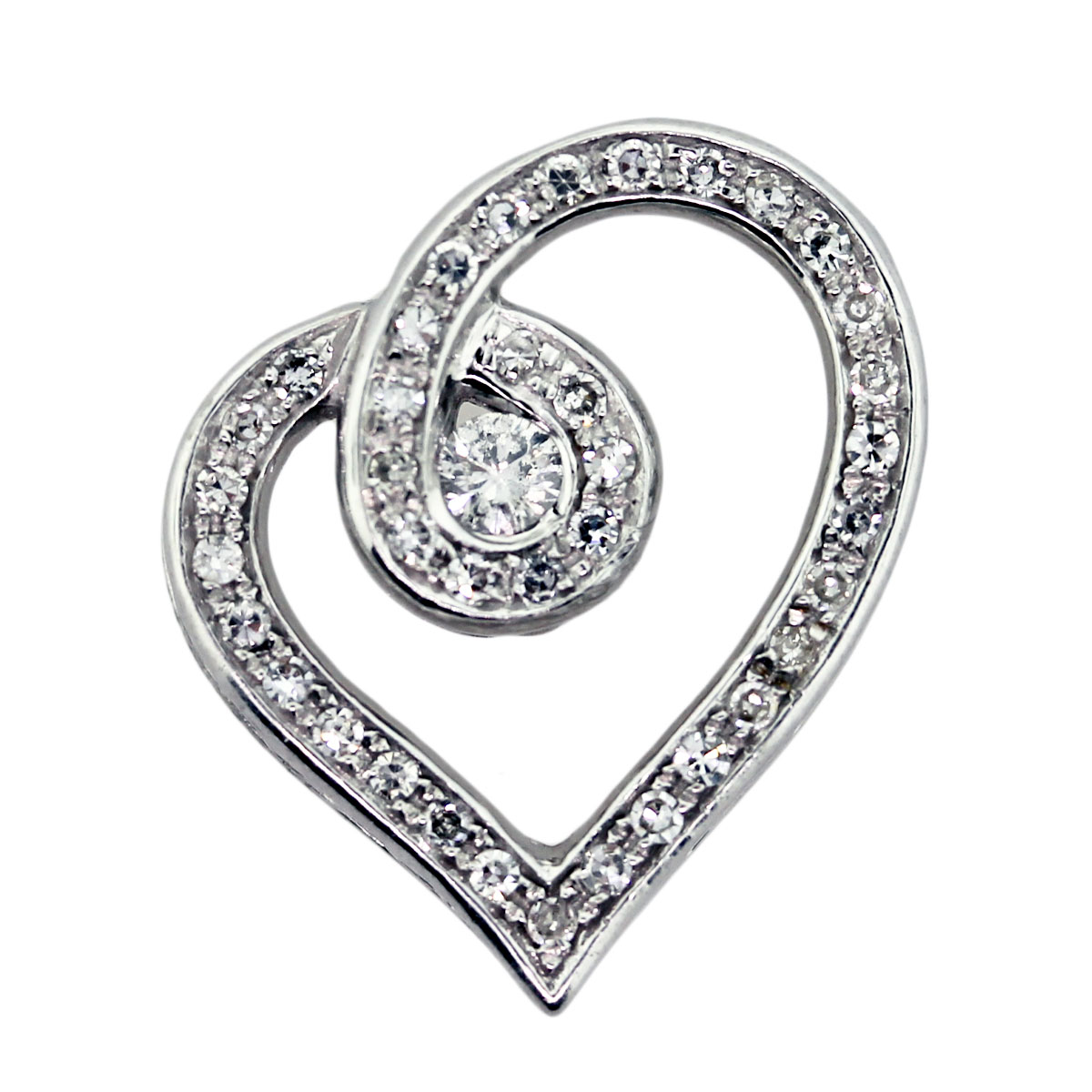 diamond heart jewelry