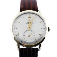 Vintage Omega 14K Automatic Movement Watch