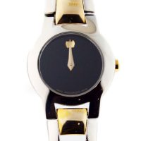 Pre-owned Movado Amorosa Ladies Two Tone Watch