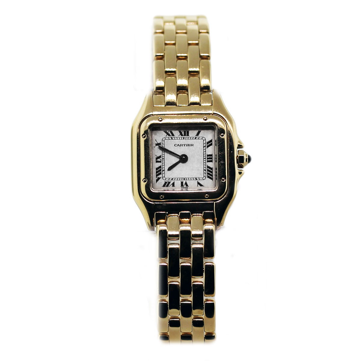 used cartier panther 18k yellow gold