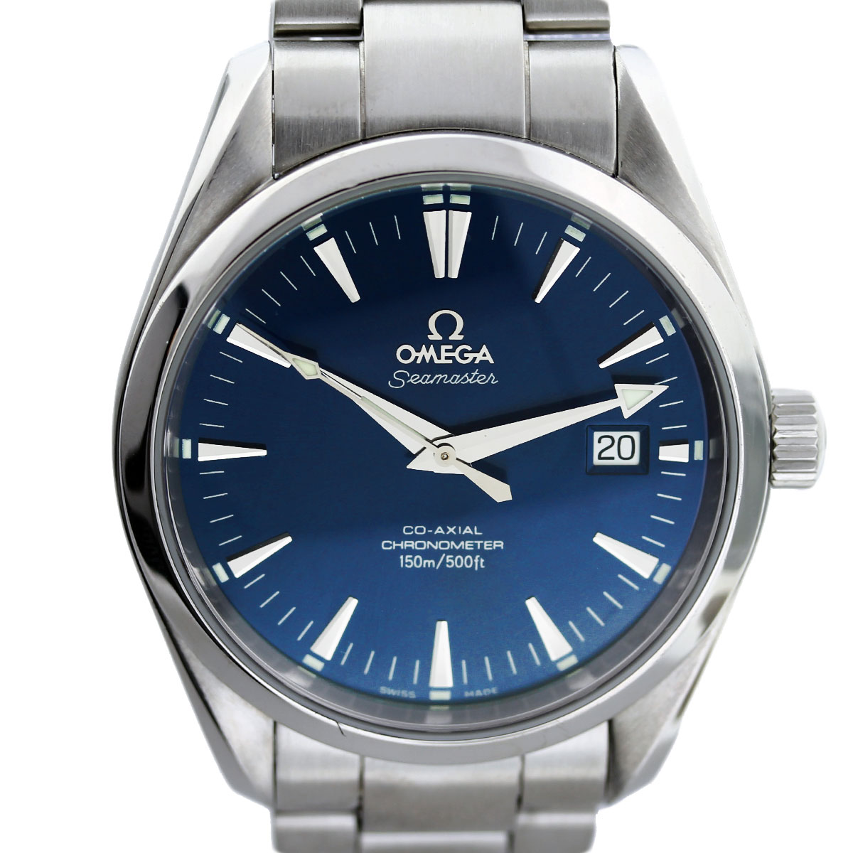 Omega Seamaster Co Axial Aqua Terra Skeleton Back Mens Watch