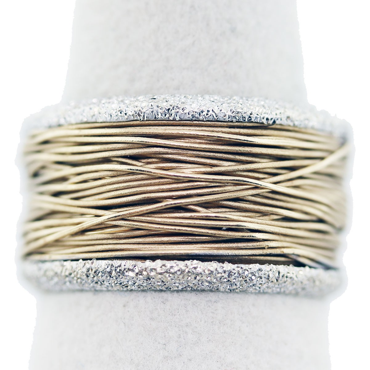 While Many Individuals Have Different Ideas Of Wedding Bands And Engagement  Rings, This One Really Caught My Attention Basically Described As A  Wovenstyle