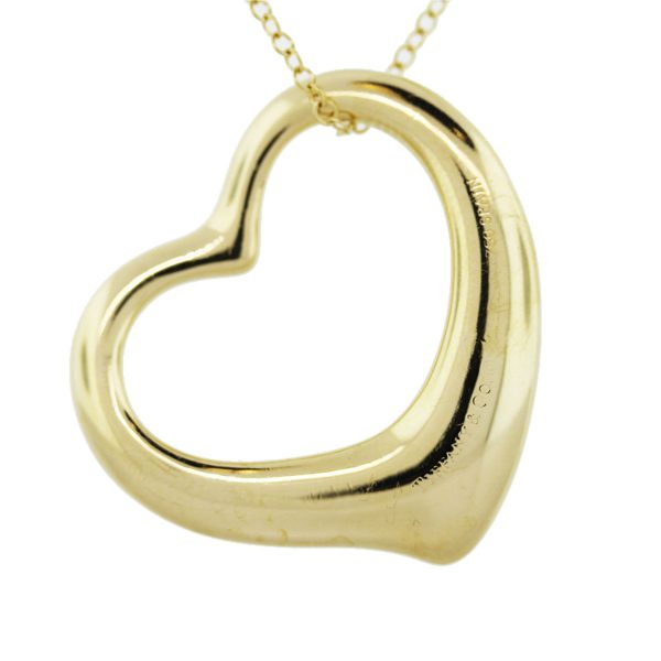 Large Open Heart Chain