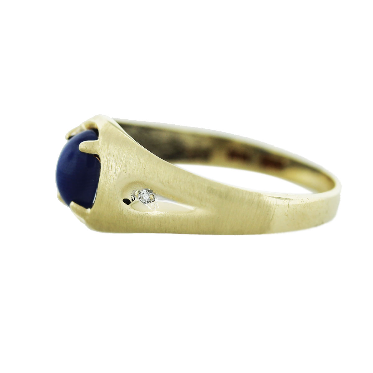 Sapphire Ring Side