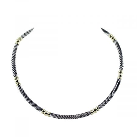 David Yurman Collar Necklace