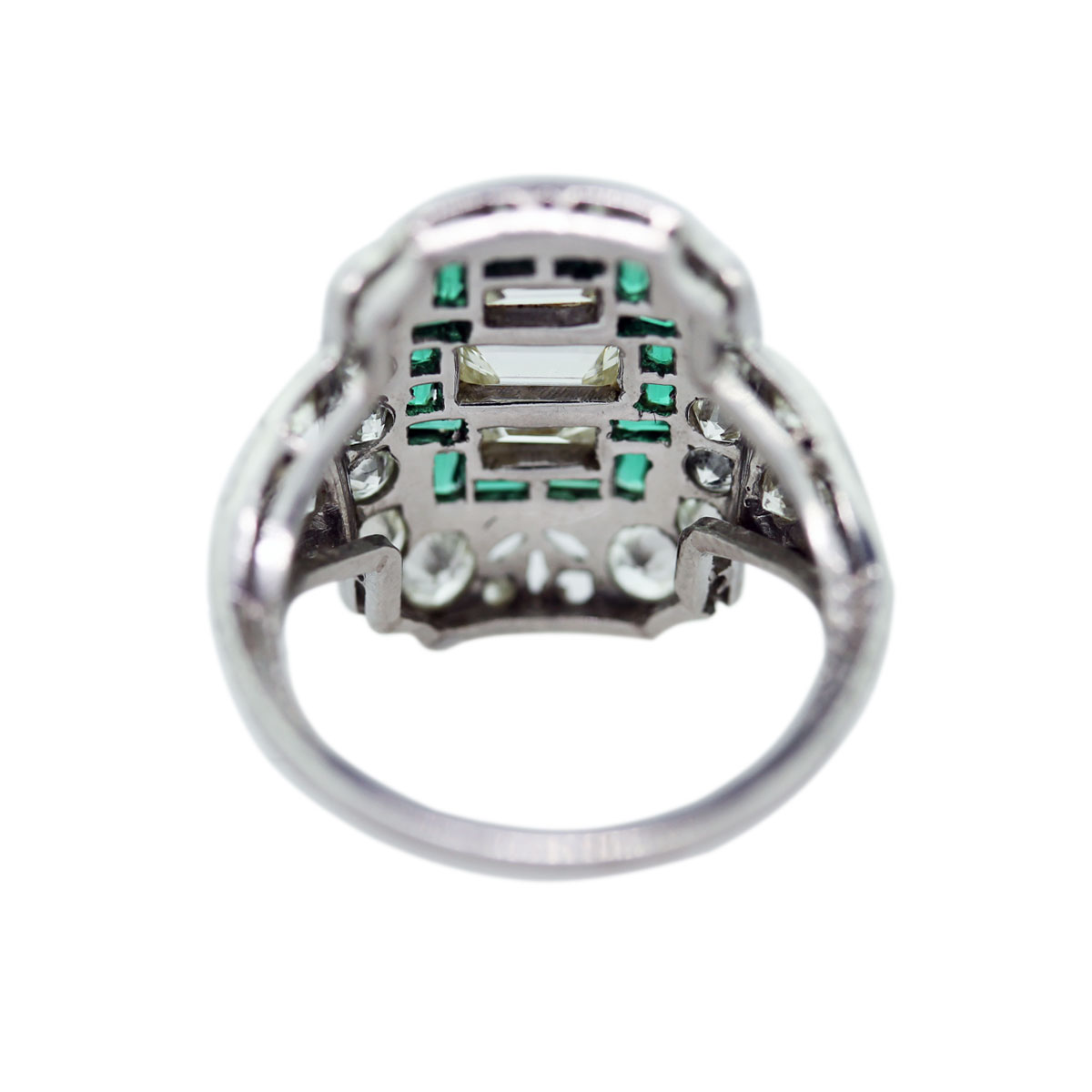 Back of Emerald Ring