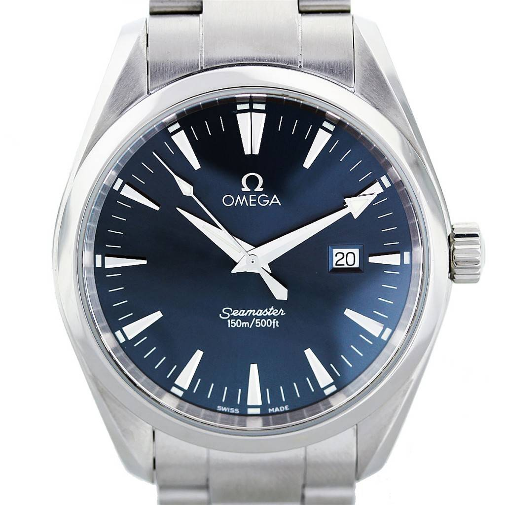 Omega Seamaster Aqua Terra 2517 50 00 Stainless Steel Watch