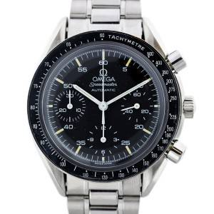 Vintage Omega Speedmaster Chronograph Automatic Stainless Steel Watch
