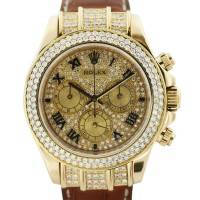All Diamond Rolex Daytona 116518 Mens Watch