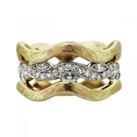 Gold Triple Ring