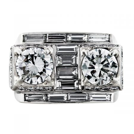 big diamond mens ring