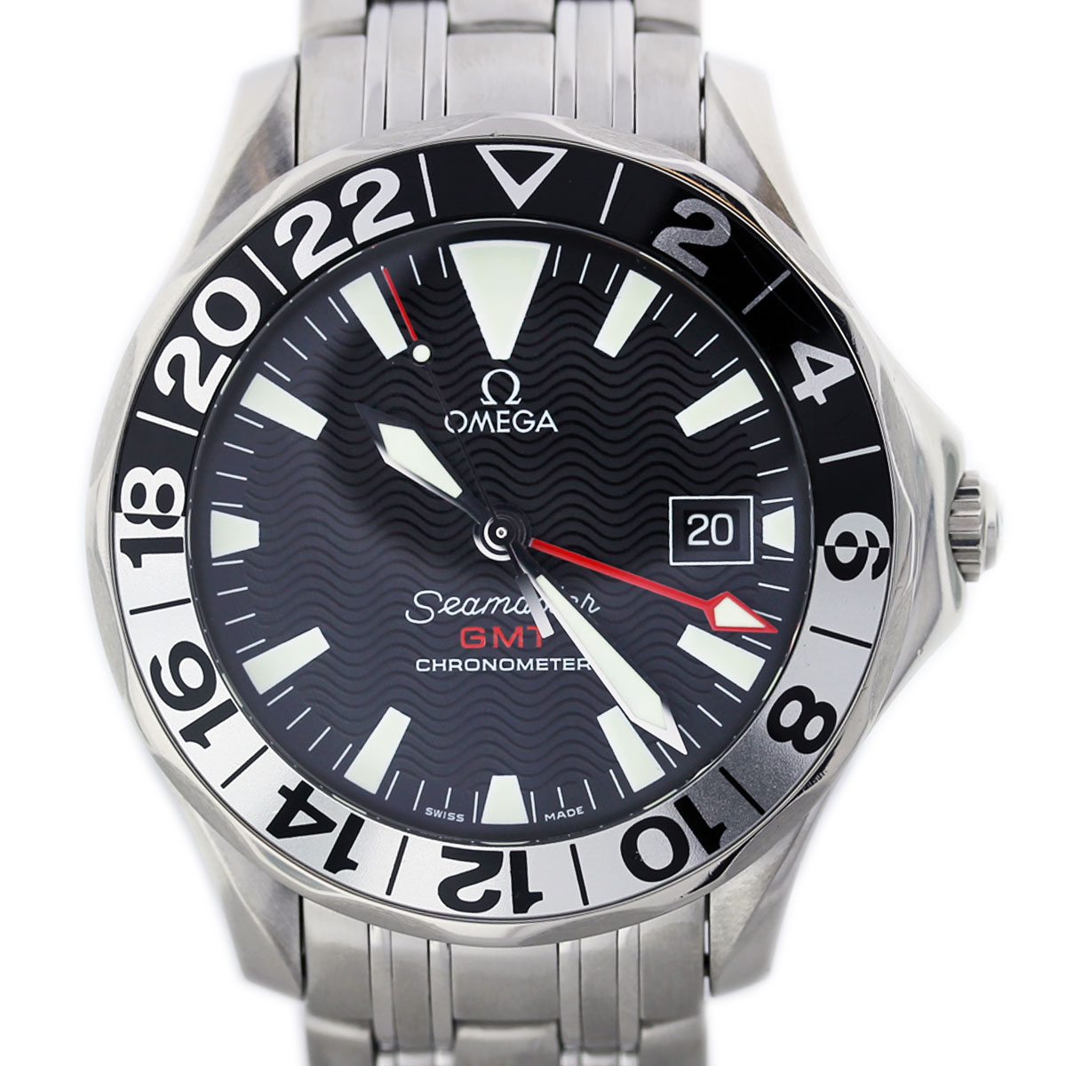 Boca Raton Shopping >> Omega Seamaster 2534.50 GMT 50th Anniversary Edition Watch Boca Raton