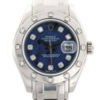 Rolex Datejust 80319 18K Pearlmaster Diamond Dial Ladies Watch