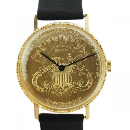 Gold Coin Watch
